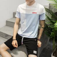 夏季T恤短裤男装五分裤正品夏季款透气速干舒适圆领运动短袖套装