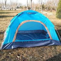 户外帐篷手抛帐篷速开速搭建超轻便携帐篷露营野营餐帐篷 天蓝色