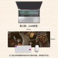 Rainbowsix彩虹六号围攻R6游戏鼠标垫超大号加厚锁边键盘垫定制 800x300mm 3mm