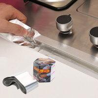 灶台耐高温铝箔胶带潮密封锡纸水槽油烟机补漏贴纸