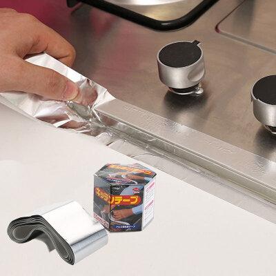 灶台耐高温铝箔胶带潮密封锡纸水槽油烟机补漏贴纸 发货周期:一般在付款后2-90天左右发货,具体发货时间请以与客服协商的时间为准