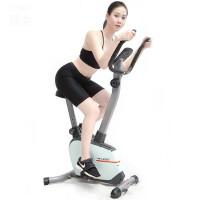 动感单车家用磁控健身车超静音室内自行车锻炼运动单车 冷灰色