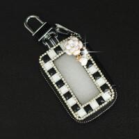 女款钥匙包汽车可爱遥控器钥匙包奇奇钥匙水钻遥控硬币保护包女男女挂件车用卡包
