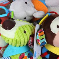 毛绒公仔skkbaby宝宝手偶玩具可水洗婴幼儿PP棉动物玩偶
