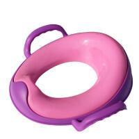 【支持�Y品卡】�和��R桶圈坐便器�R桶圈�|女孩男女����通用�o助如��便�y式塑料 gq5