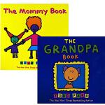 英文原版绘本 Todd Parr 5册 儿童情商礼仪情绪管理 The Grandpa Book 家庭亲子启蒙 大开本淘
