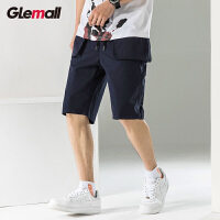 潮牌GLEMALL【轻薄大口袋】简约多色百搭街潮运动夏季薄款男士休闲短裤