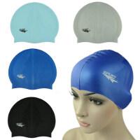 超柔软雕刻硅胶游泳帽 男女通用 防水性好 户外泳帽