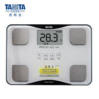百利达(TANITA) 体脂仪 成人家用精准电子小型脂肪秤 体脂体重称 日本品牌 BC-718 白色