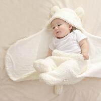 【支持礼品卡】新生儿抱被初生婴儿包被秋冬加厚 宝宝襁褓包巾春秋睡袋 i5c