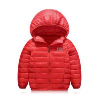秋冬季新款轻薄儿童羽绒男童女童棉袄特价中小童童装棉衣