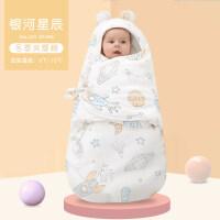 婴儿睡袋秋冬款加厚新生儿童彩棉防踢被冬季宝宝睡袋幼儿加长睡袋