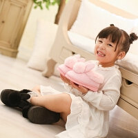 儿童棉拖鞋秋冬季可爱防滑男女童包跟家居1-3岁公主室内小孩宝宝
