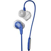 【当当自营】JBL Endurance Run 蓝色 入耳式有线运动音乐耳机耳麦 可通话绕耳式耳麦