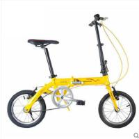 加固承重自行车铝合金超轻儿童车学生男女式公路车zxc14寸折叠车