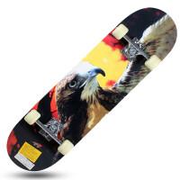 四轮滑板双翘板公路刷街滑板儿童4轮枫木代步滑板车