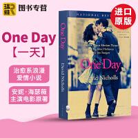 One Day 一天英文版 英文原版电影原著小说书 外文经典爱情小说畅销书籍 安妮海瑟薇主演 正版进口英语图书