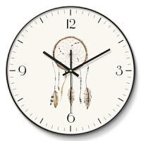 北欧现代挂钟客厅个性创意时尚现代简约时钟静音家用卧室欧式艺术钟表