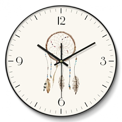 北欧现代挂钟客厅个性创意时尚现代简约时钟静音家用卧室欧式艺术钟表 本产品为定制产品,页面品牌等参数均仅供参考,并非实物,默认拍下的为同意页面中描述