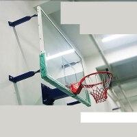 户外标准钢化玻璃篮板壁挂式篮球架标准钢化玻璃篮板