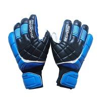 乳胶足球守门员门将手套 护骨指加厚防滑比赛训练防护手套 舒适透气足球护具手套 9码