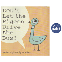 英文原版进口绘本Don't Let the Pigeon Drive the Bus别让鸽子开巴士 Mo Willem
