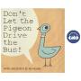 【首页抢券300-100】英文原版进口绘本Don't Let the Pigeon Drive the Bus别让鸽子开巴士 Mo Willems作品 小猪小象同作者 儿童图书 早教故事英语启蒙