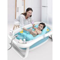 婴儿洗澡盆浴盆新生儿宝宝用品可坐躺通用小孩儿童沐浴桶大号加厚i2q