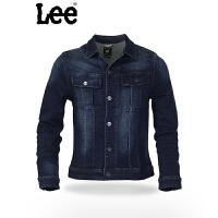 Lee 男士牛仔夹克  春秋款男士牛仔外套 时尚潮流经典版型  L14562V17Y86