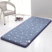 学生宿舍床垫单人床褥子垫被折叠0.9x1.9m1.2米1.0上下铺90cm地铺