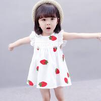 女童夏装背心裙夏季棉布裙小女孩子夏装公主裙子女宝宝无袖连衣裙