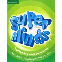 英音版剑桥小学英语教材 Super Minds Level 2 Workbook with Online Resources