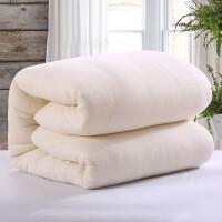 新疆长绒棉纯棉花被手工棉絮被子被芯加厚冬被保暖单人垫背床褥子