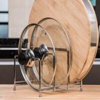 厨房锅盖架菜板架置物架收纳砧板架用品粘板案板架子带接水盘
