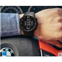 男士手表防水时尚款男新款学生男士手表电子表运动时尚男士手表大表盘支持礼品卡支付
