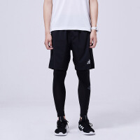 adidas阿迪达斯男子紧身裤2018新款跑步训练长裤运动服CF7339