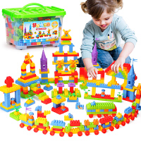 儿童积木玩具男孩礼物 3-6周岁 宝宝拼装大号颗粒