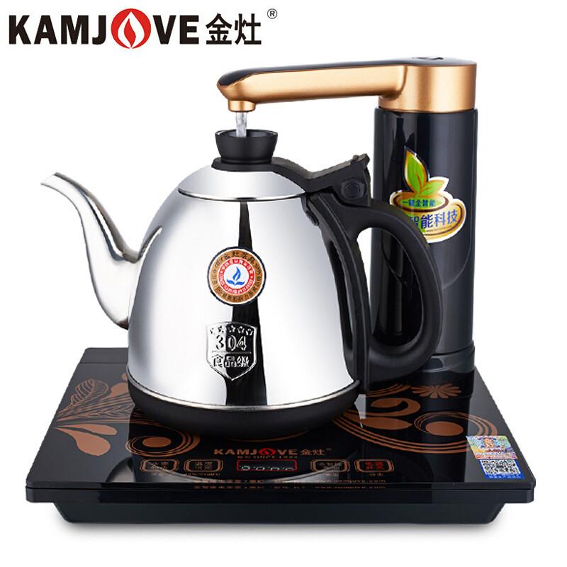 金灶(KAMJOVE) K7全智能自动上水电热水壶 电热壶 茶具全自动电茶炉茶具智能恒温系统 重力自动上水装置