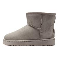 雪地靴女时尚防水百搭冬季短筒学生棉鞋