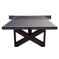 标准乒乓球台家用室内乒乓球桌可折叠木质乒乓球案子