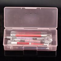 纹绣工具用品半手工笔盒眉笔定位笔整理盒收纳盒纹眉材料工具