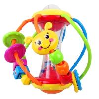 男孩宝宝儿童益智汇乐929健儿球婴儿手抓球摇铃滚滚球宝宝运动学爬行玩具0-1岁