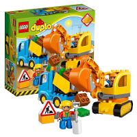 【当当自营】LEGO乐高卡车和挖掘车套装 10812