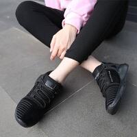 【领券立减100】Q-AND/奇安达女跑鞋2018新款女士轻便透气柔软百搭运动休闲跑步鞋