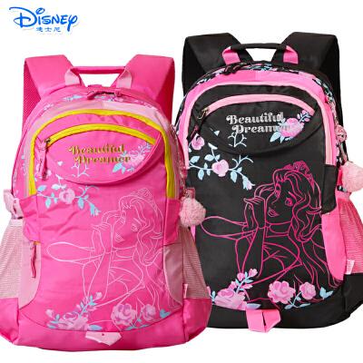 迪士尼小学生书包3-6年级男女米奇儿童休闲书包初中生双肩书包PL8076有买就有送 送笔袋
