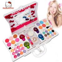 小孩化妆玩具套装凯蒂猫儿童化妆品女孩公主彩妆盒