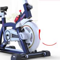 动感单车家用健身房超静音室内运动带音乐脚踏自行减肥机器材 【铂金高配款】炫酷黑