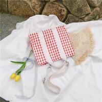 帆布包女单肩包大容量韩国简约百搭斜挎文艺日系小清新帆布手提包