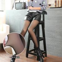 肉色假透肉打底裤一体无缝女春秋季薄款外穿秋冬加绒加厚光腿神器 均码