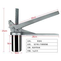 不锈钢面条机 手动压面机家用压面器 小型��机空心面机